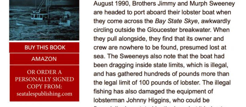 """Publishers Weekly's Stellar Review of """"Bay State Skye"""""""