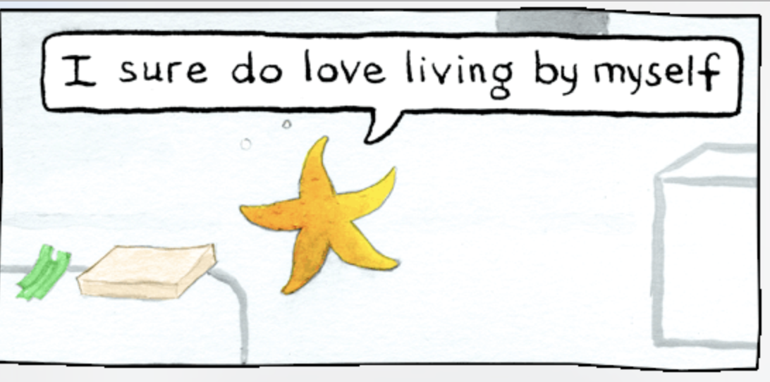 A Sea Star Comic